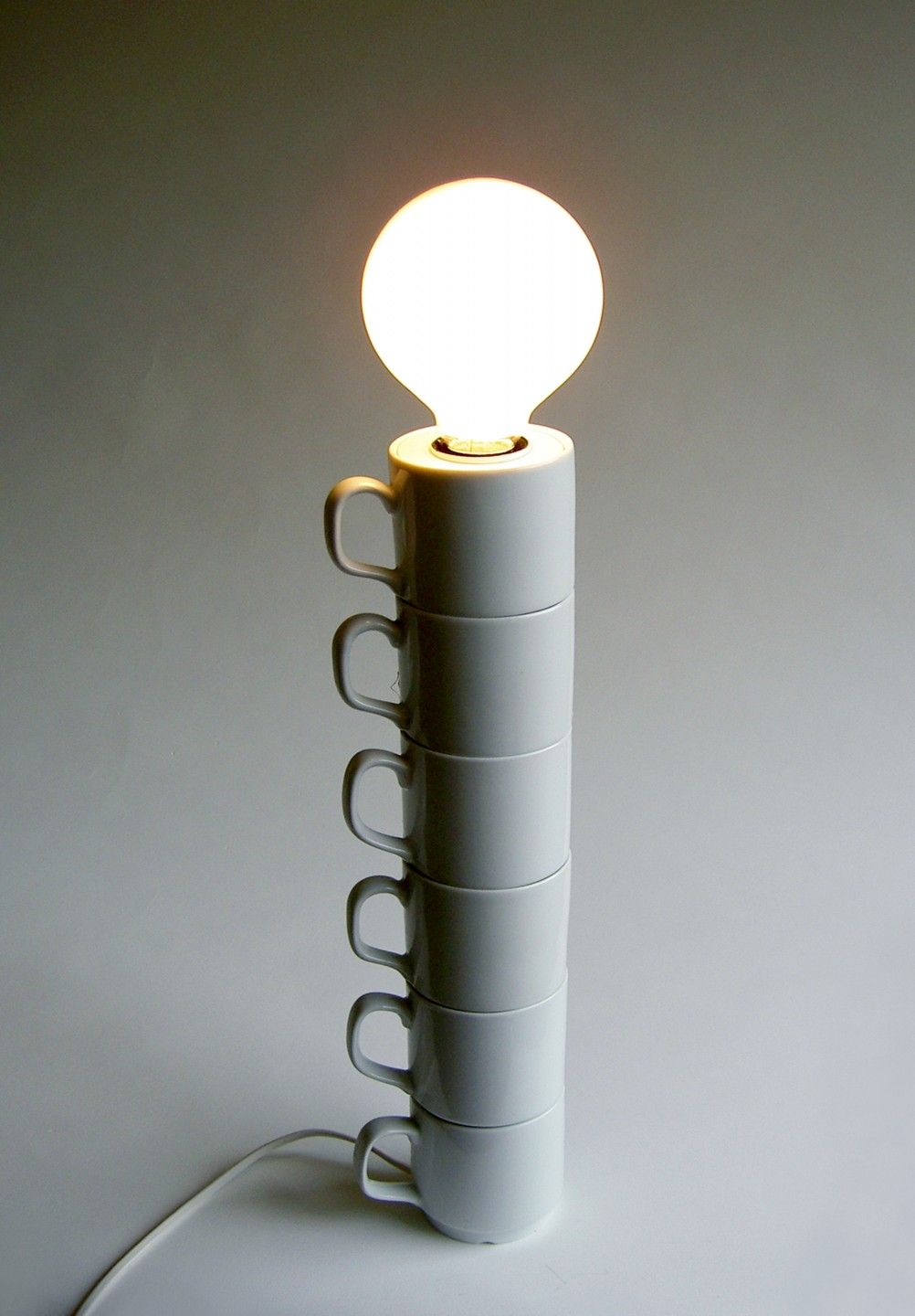 Piled cups lamp-1